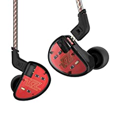 KZ AS10 5 Balanced Armature Driver Earphone, Stereo HIFI KZ In Ear Monitor Headphone Musician Headset with Detachable 2 Pin Cable(No Microphone, Black) Features: 5 balanced armature musician In ear monitor earphone.  Detachable 2 Pin cable, e...