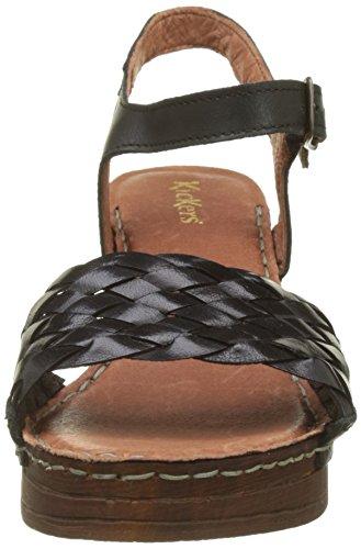Kickers Damen Tressie Sandali Slingback Noir (noir)