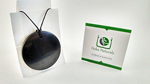 large-circle-shungite-pendant-necklace-natural-stone-chakra-crystal-healing-energy-karelia-russia