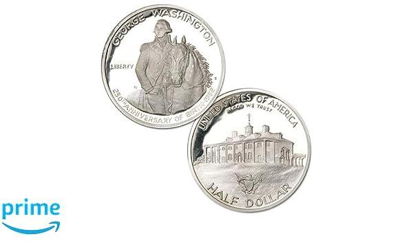 1982 S George Washington Proof Commemorative Half Dollar 90/% Silver