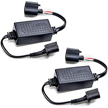 LASFIT LED Kit Computer Warning Canceller & Anti Flicker Decoders (1 Pair) - H13