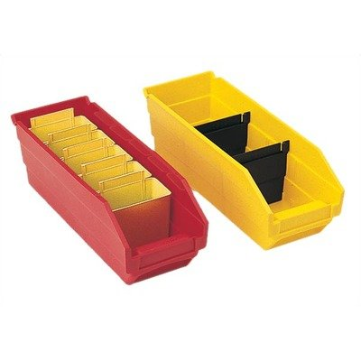 Quantum Dividers For Recycled Shelf Bins - Fits Bins 5614000, 5614200 - Black