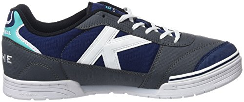 Kelme Men's Trueno Sala 2.1 Low-Top Sneakers Grey (Antracita Y Azul 637) buy cheap find great xZU8Mjm