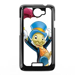 HTC One X Phone Case Black Pinocchio Jiminy Cricket DYW5139348