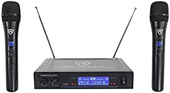 Rockville VHF Wireless Dual HandHeld Microphone System