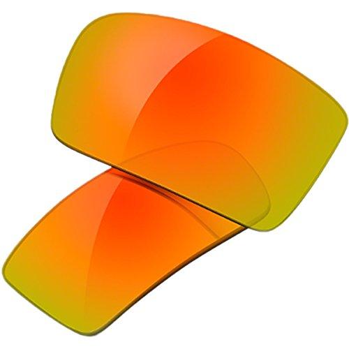 Oakley Gascan Men's Lifestyle Replacement Lens - Fire Iridium / One - Oakley Iridium Lenses Gascan