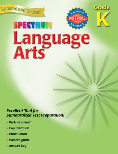 Language Arts, Grade K (Spectrum)