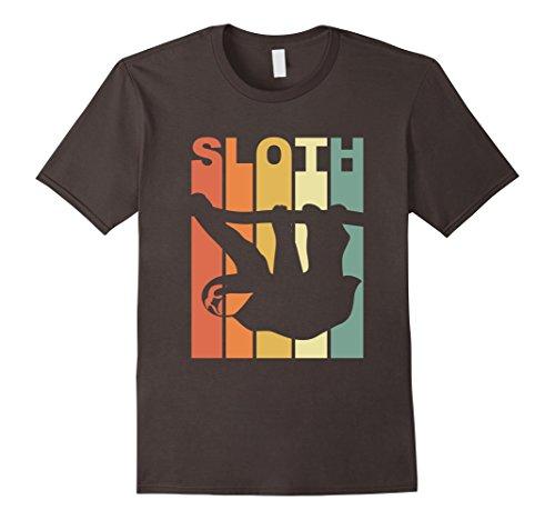 Mens Vintage Sloth T-Shirt Medium Asphalt
