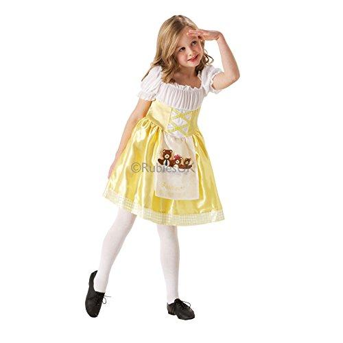 [Goldilocks - Medium - 5-6 Yrs] (Goldilocks Costume For Kids)