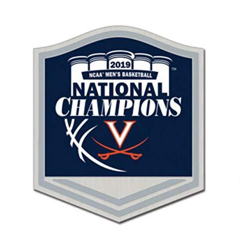 (WinCraft Virginia Cavaliers 2019 NCAA Basketball National Champions Metal Lapel Pin)