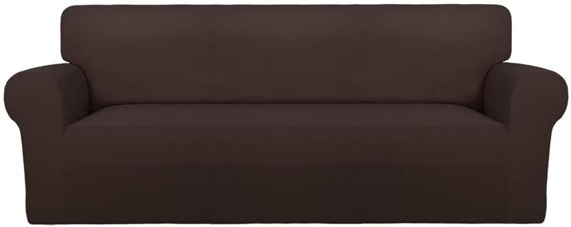 41Ufr66dgEL. AC SL1001 - Best Slipcovers For Leather Sofas and Couches (Non-Slip) - ChairPicks