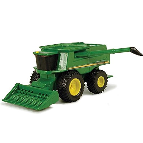 John Deere Mini Toy Combine with Corn Head #35652 - Miniature John Deere