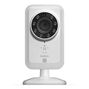 Belkin NetCam Wireless IP Camera for Tablet and Smartphone with Night Vision and Digital Audio from Belkin Components