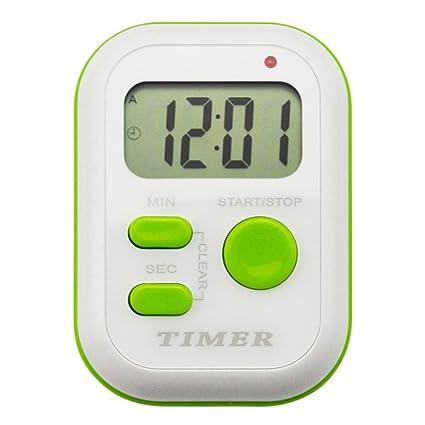 YepLife Reloj digital con temporizador y tiempo de ciclo. Cronómetro/herramienta de gestión de