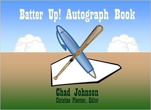 Batter Up! Autograph Book