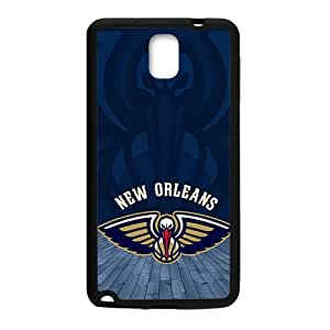 New Orleans Pelicans NBA Black Phone Case for Samsung Galaxy Note3 Case