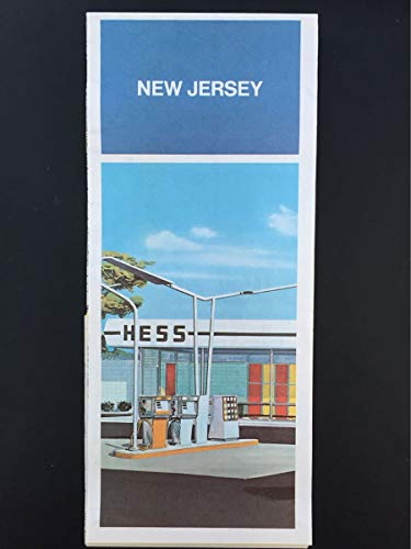 - 1975 Hess Oil New Jersey Road Map