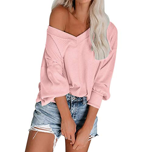 Long Tops for Women,2019, Pink T Shirt Women,Find Clothes for Women, Womens Tops Size 20 Going ()