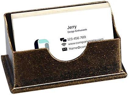 Amazon.com: Soporte de tarjetas de visita para escritorio ...
