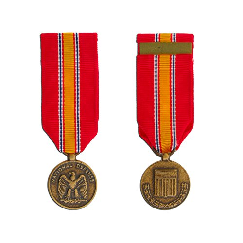 Ira Green National Defense Miniature Medal Non-Anodized