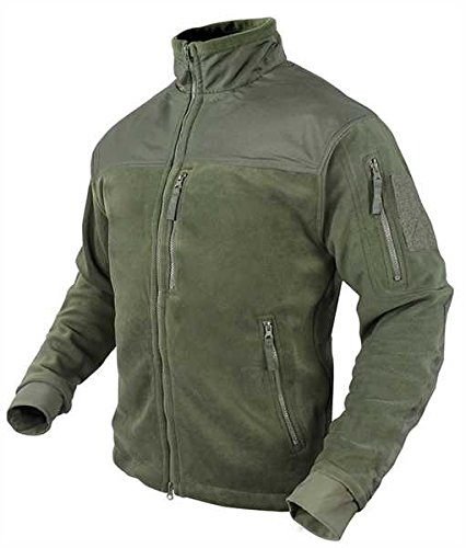 Condor Alpha Tactical Fleece Jacket (Small, Olive Drab) ()
