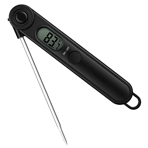 Habor Meat Thermometer Digital Cooking Food Thermometer with 5 Second Instant Readout for BBQ Candy (Magnetic Mixer For Food compare prices)