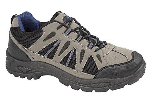 Dek - Botas de senderismo de Material Sintético para hombre gris gris