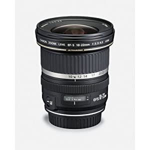 Canon EF-S 10-22mm f/3.5-4.5 USM SLR Lens for EOS Digital SLR's