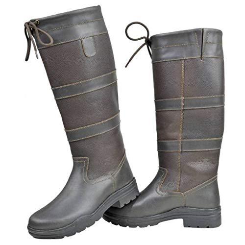 dunkelbraun 2100 Farbe Stiefel Größe Belmont HKM 41 Winter qSp1gXqxwz