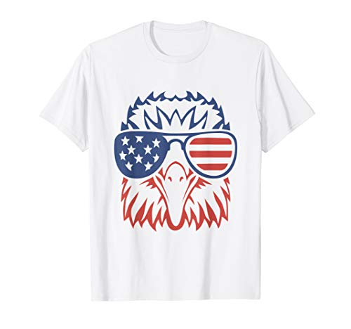 Patriotic Eagle T-Shirt 4th of July USA