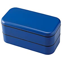 Takenaka Bento Box Double 900ml (Blue)