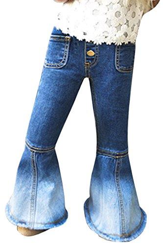 Pocket Bottoms Jeans - 7