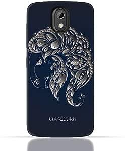 HTC Desire 526 G Plus TPU Silicone Case with Zodiac-Sign-Capricorn Design