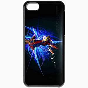 Personalized iPhone 5C Cell phone Case/Cover Skin The Flea Lionel Messi Lionel Messi FC Barcelona Football Black