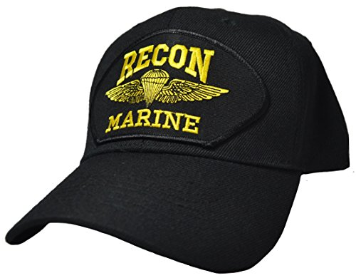 Marine Cap Recon (Recon Marine Ball Cap (Black))