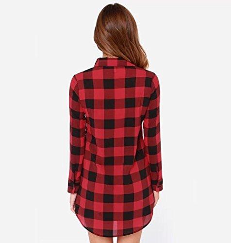 Coffeepop - Camisas - para mujer Rosso