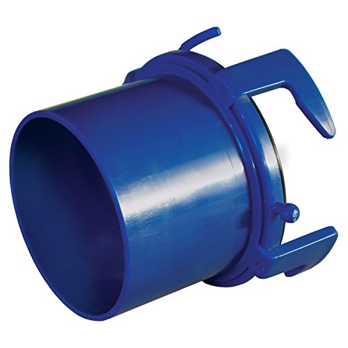 Prest-O-Fit 1-0004 Universal Sewer Hose Adapter - Blue (Best Rv Sewer Hose On The Market)
