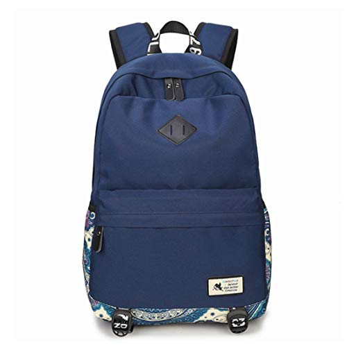 De Nacional Viento Verano Blue Bolso Weatly Intermedia Escuela Hombro Impermeable bolso Red Estudiante mochila Navy color bolso g0qfpFwp