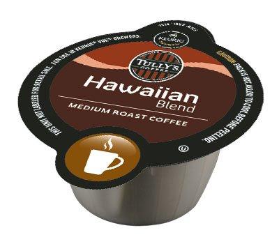 Tullys Hawaiian Blend Coffee Keurig Vue Portion Packs, 16 Count