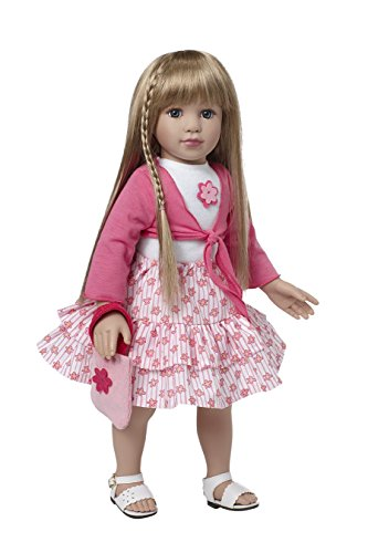 Starpath Blonde Girl Doll - 18' Vinyl, Included Custom Fairy Tail e-Book Starring you and your Star Path Doll, Fits American Girl Clothing -