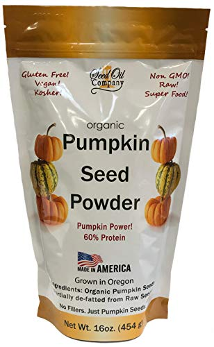 - Pumpkin Seed Protein Powder - New Resealable Pouch!
