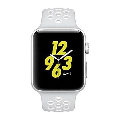 Apple Watch Nike+ 42mm Silver Aluminum Case Pure Platinum/White Nike Sport Band