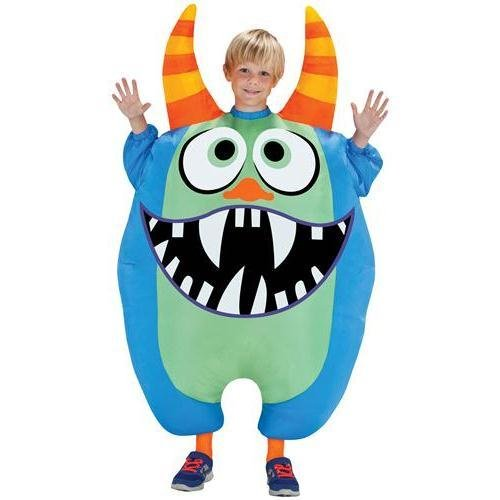 Morris The Monster Costume (Morris Costumes SS55177G Inflate Scareblown Blue)