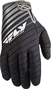 Fly Racing 907 MX Gloves , Distinct Name: Black/Gray, Size: XL, Size Modifier: 11, Primary Color: Black, Gender: Mens/Unisex 365-61011