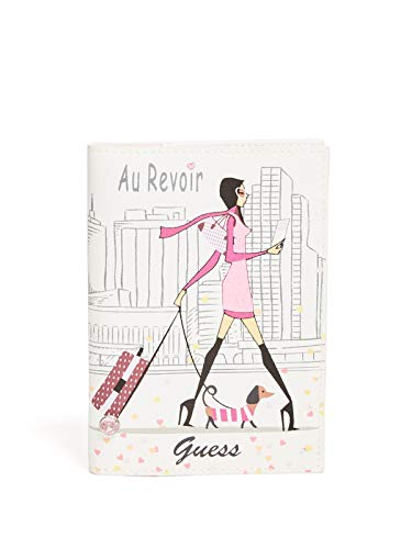 GUESS Factory Women's Au Revoir Logo Passport Case