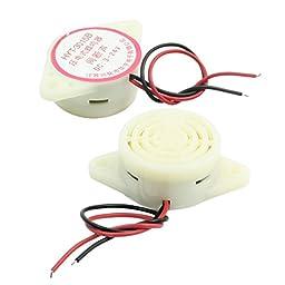 2pcs HYT-3015B DC 3-24V 80dB Intermittent Sound Piezoelectric Buzzer