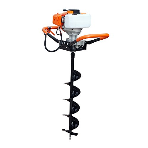 52cc Power Engine 2.2HP Gas Powered Post Hole Digger 8