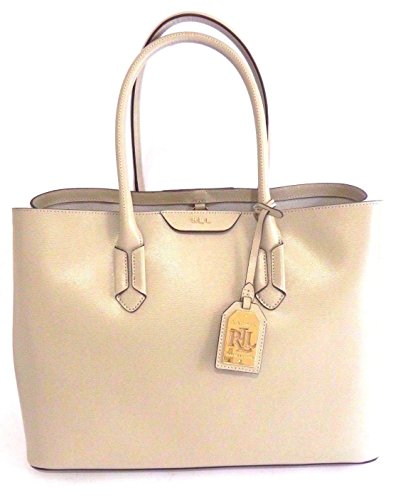 BORSA RALPH LAUREN CITY TOTE SHOPPER LIMESTONE