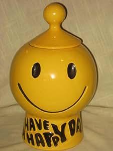 Amazon Com Vintage Mccoy Pottery Smiley Face Quot Have A