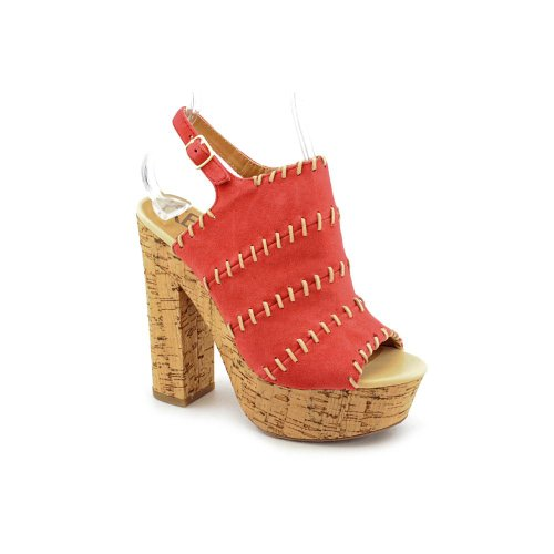 Kelsi Dagger - Sandalias de vestir para mujer Red